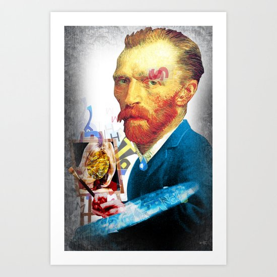 Vincent 5 Art Print
