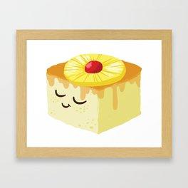 Baby Cakes - Pineapple Upside Down Cake Framed Art Print