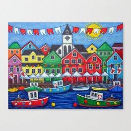 Hometown Festival Canvas Print