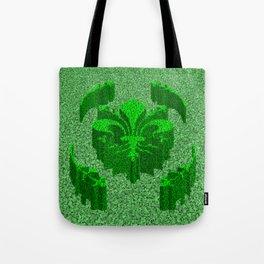 Florentine Green Garden Tote Bag