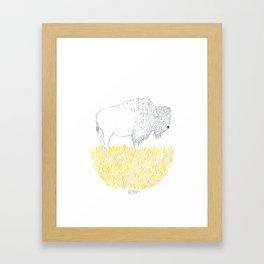 Roam. Framed Art Print