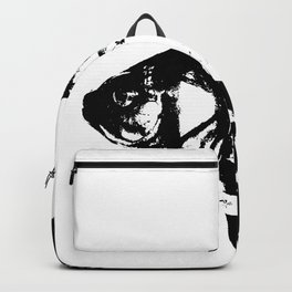 Black Fish Backpack