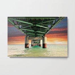 Mackinac Bridge Metal Print