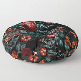 Midnight Garden II Floor Pillow