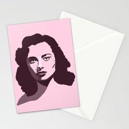 Marina pink Stationery Cards