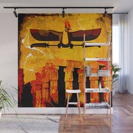 Ra, god of the sun Wall Mural