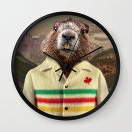 Hudson Beaver Wall Clock