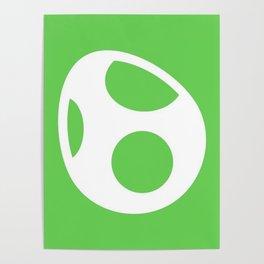 Green Egg Poster