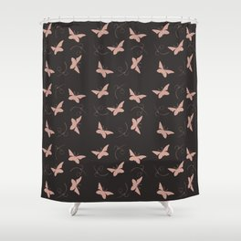 Flutterby-O Shower Curtain