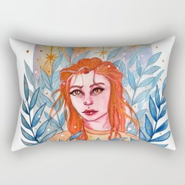 Lost In The Woods Rectangular Pillow