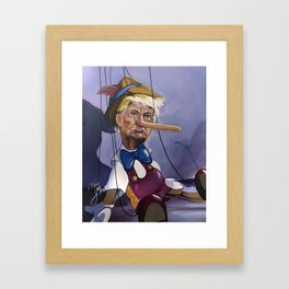 This is a total witch hunt Framed Art Print
