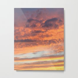 Berkshires Sunset II Metal Print