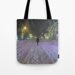 Commute Blizzard of 2016 Tote Bag