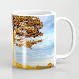 Tree In Spotlight Coffee Mug