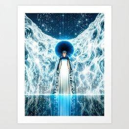 Celestial Breathing Art Print