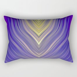 stripes wave pattern 3 ls Rectangular Pillow