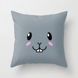 Baby Bunny. Kids & Puppies Throw Pillow