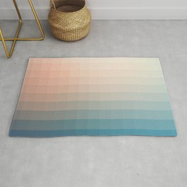 Lumen, Turquoise and Pink Glow Rug