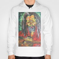 rasta Hoodies featuring Rasta Man by sladja