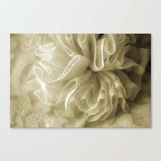 Vintage Lace Canvas Print
