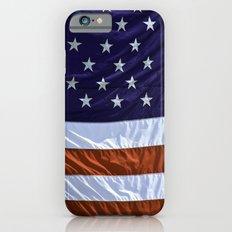 United States Of America Flag Slim Case iPhone 6s