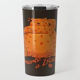 Quiero Comerte a Besos Travel Mug