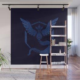 Team Mystic Sparkly blue sparkles Wall Mural
