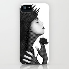 Eloa - The angel of sorrow and compassion iPhone Case