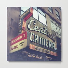 Central Camera Metal Print