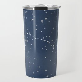 ARIES - Astronomy Astrology Constellation Travel Mug