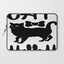Cat Mom Laptop Sleeve