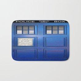 doctor who public box  Bath Mat