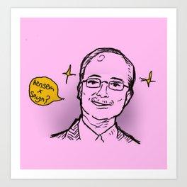 PM of Malaysia Art Print