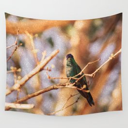 Bird - Photography Paper Effect 003 Wall Tapestry