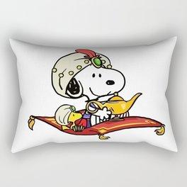 arabian snoopy Rectangular Pillow