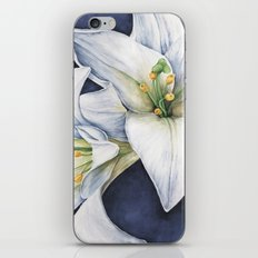 White Lilies iPhone & iPod Skin