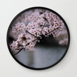 Cherry Blossoms II Wall Clock