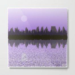 Moonscape #675,923,523 Metal Print