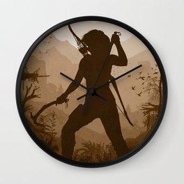 Shadow of the Tomb Raider Wall Clock