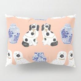 Staffordshire Dogs + Ginger Jars No. 5 Pillow Sham
