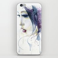 silent hill iPhone & iPod Skins featuring Silent by Cora-Tiana