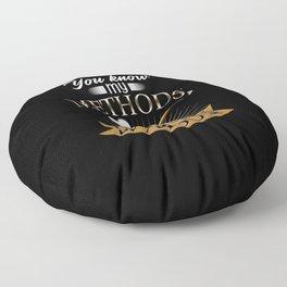 Sherlock Holmes British Detective Mystery Crimes Floor Pillow