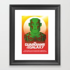 Guardians of the Galaxy - Drax Framed Art Print