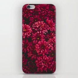 Painting The Flowers Red iPhone Skin