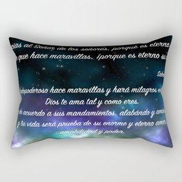 Galaxia - Salmo 136, 2-3 Rectangular Pillow