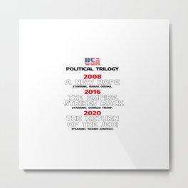 USA Presidential trilogy Metal Print