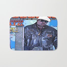 The source cover number 70 The Notorious B.I.G. Bath Mat