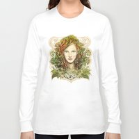 elf Long Sleeve T-shirts featuring Elf Nouveau by hkxdesign