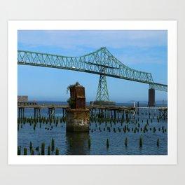 Megler Bridge -  Astoria Art Print