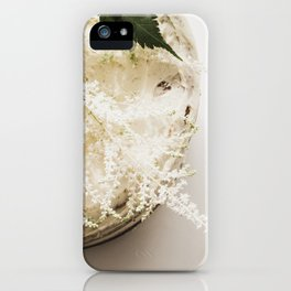 White Naked Cake iPhone Case